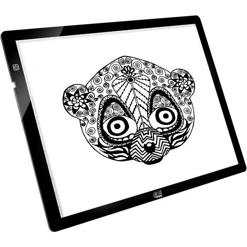 "Adesso Cyberpad P2 Sketch 12""x17"" Light Tracing Pad"