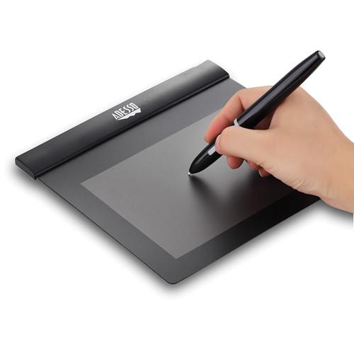 "Adesso CyberTablet Z8 6 x 4.5"" Ultra-Slim Graphic Pad (Black)"