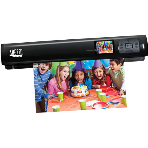 Adesso EZScan 320 Wi-Fi Auto-Feed Portable Scanner