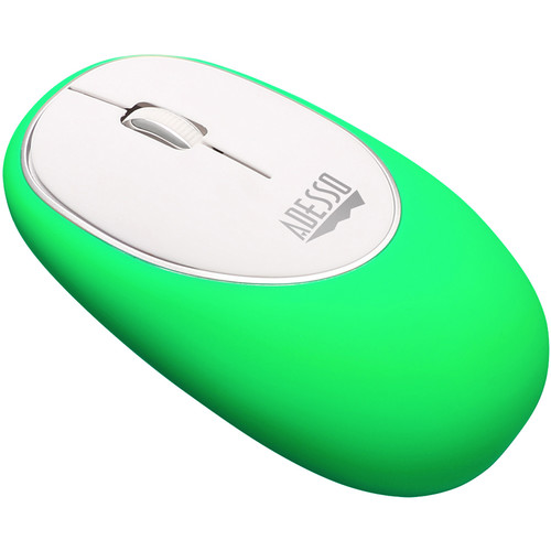 Adesso iMouse E60G Wireless Anti-Stress Gel Mouse (Green)