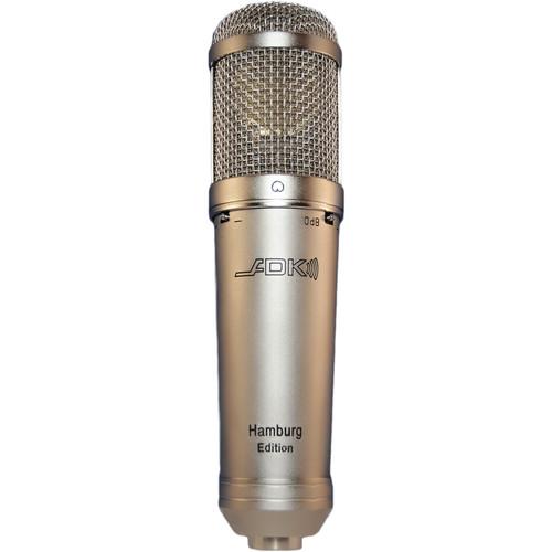 ADK MICROPHONES Hamburg MK8 Large-Diaphragm Condenser Microphone