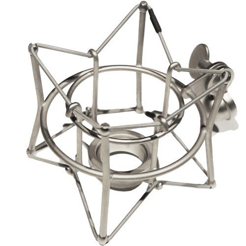 ADK MICROPHONES T-Super Mount for SL, TL, TT, & TC Microphones (Silver)
