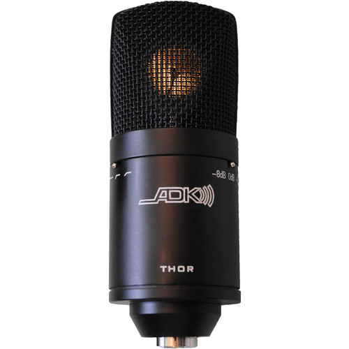 ADK MICROPHONES THOR Tri-Polar-Pattern Multi-Voice Condenser Microphone with Mount