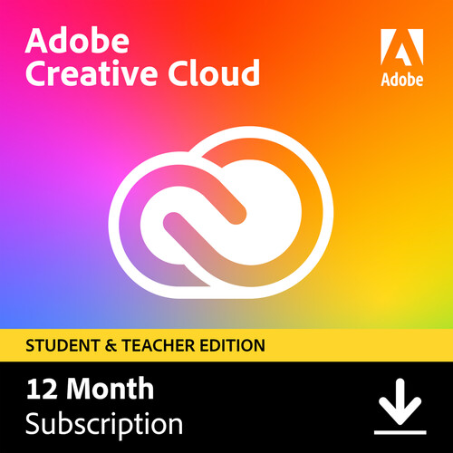 adobe creative cloud students