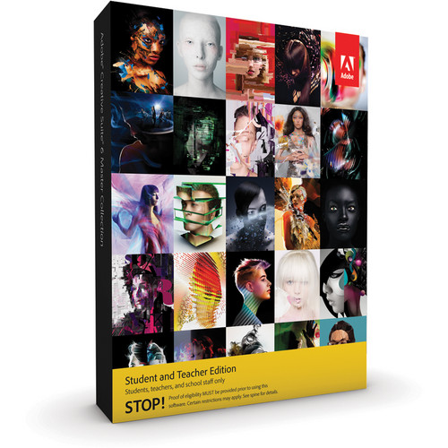Purchase Adobe CS6 Master Collection Student And Teacher Edition