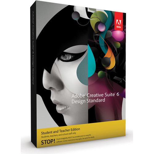 Adobe Creative Suite 6 Design Standard Student & Teacher Edition for Windows (Download)