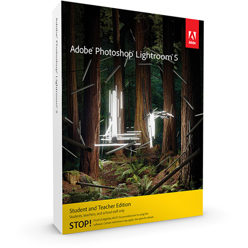 Adobe Photoshop Lightroom 5 (Download, Student and Teacher Edition)