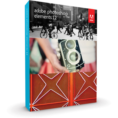Adobe Photoshop Elements 12 for Mac and Windows (Box)