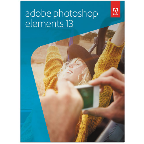 Adobe Photoshop Elements 13 for Mac and Windows (DVD)