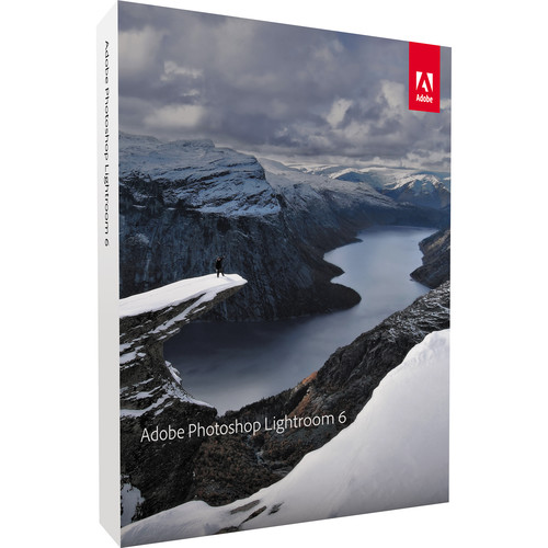 Adobe Photoshop Lightroom 6 (DVD)