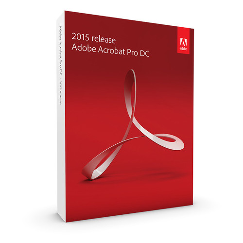 Adobe Acrobat Pro DC Student and Teacher Edition (2015, Windows, Boxed)