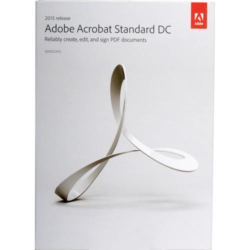 Adobe Acrobat Standard DC (2015, Windows, Boxed)