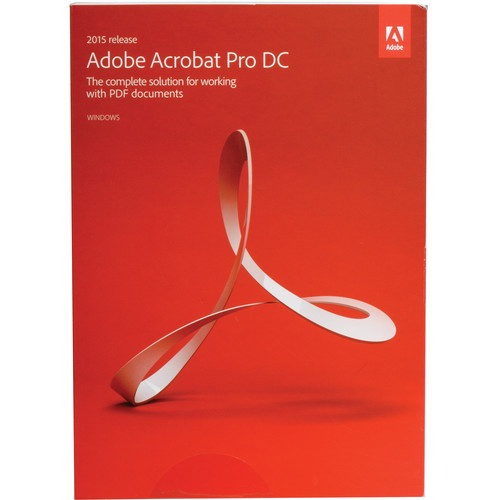 Adobe Acrobat Pro DC (2015, Windows, Boxed)