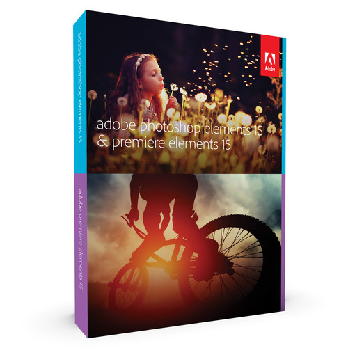 Adobe Photoshop Elements 15 and Premiere Elements 15 (DVD)