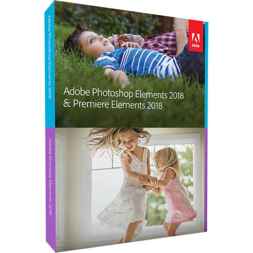 Adobe Photoshop Elements & Premiere Elements 2018 (Mac & Windows, Disc)