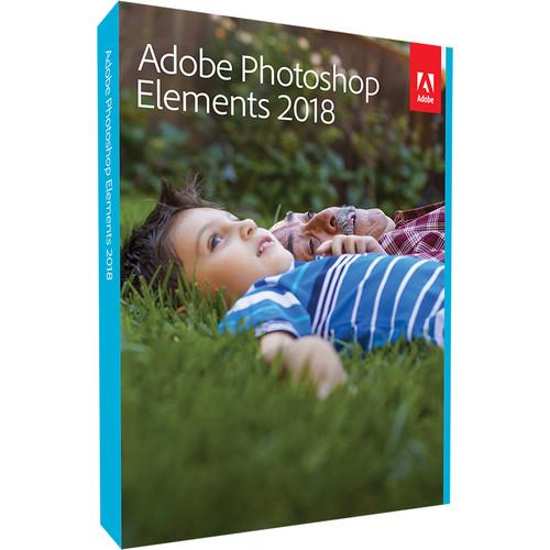 Adobe Photoshop Elements 2018 (Mac & Windows, Disc)