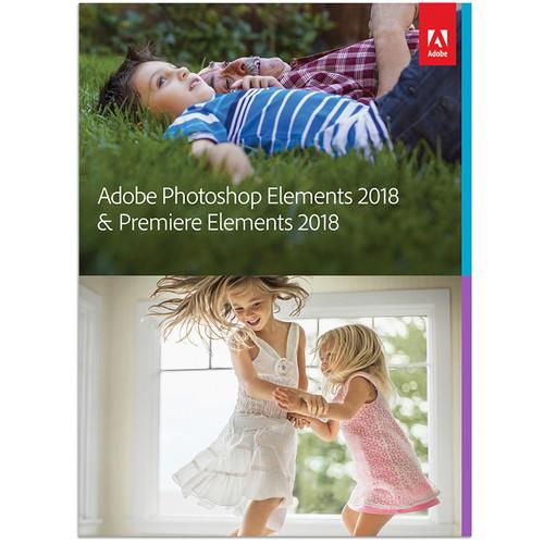 Adobe Photoshop Elements & Premiere Elements 2018 (Mac, Download)
