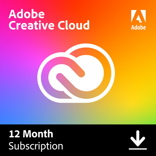 Adobe Creative Cloud (12 Month Subscription, Download)