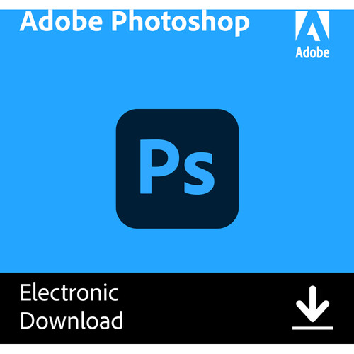 Adobe Photoshop CC (12 Month Subscription, Download)