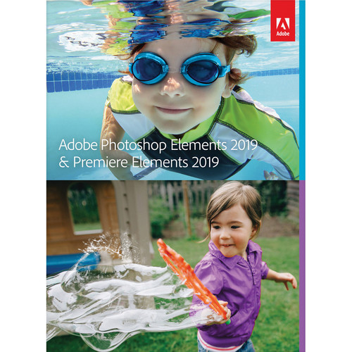 Adobe Photoshop Elements 2019 & Premiere Elements 2019 (DVD/Download Code, Mac and Windows)