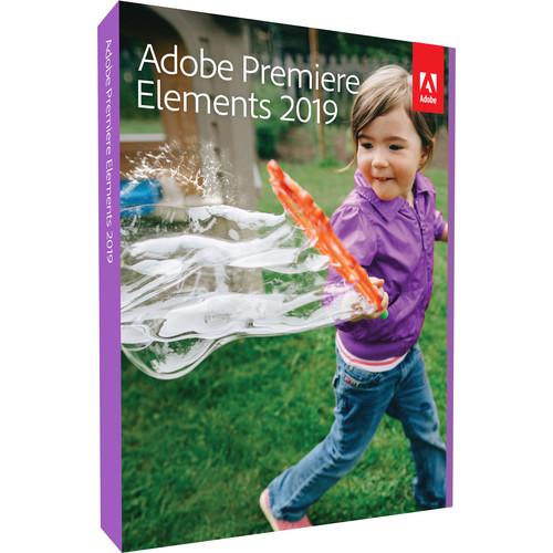 Adobe Premiere Elements 2019 (Mac/Windows, Box)
