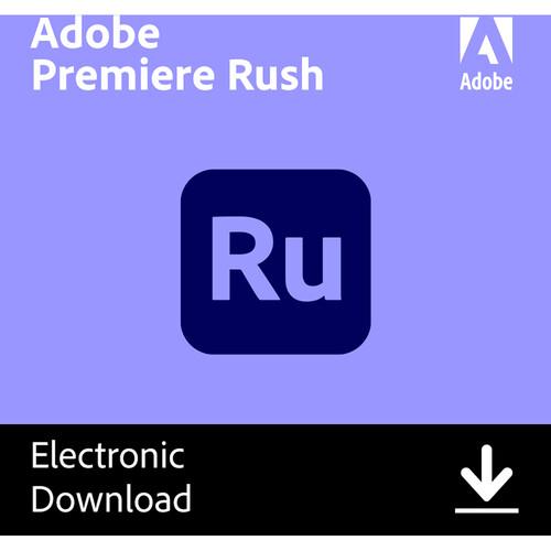 Adobe Premiere Rush CC (1-Year Subscription)