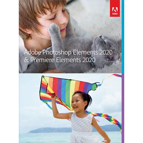 Adobe Photoshop Elements & Premiere Elements 2020 (DVD, Mac/Windows)