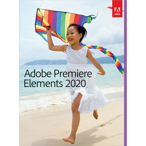 Adobe Premiere Elements 2020 (DVD, Mac/Windows)