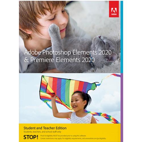 Adobe Photoshop Elements & Premiere Elements 2020 (Academic, Download, Mac)