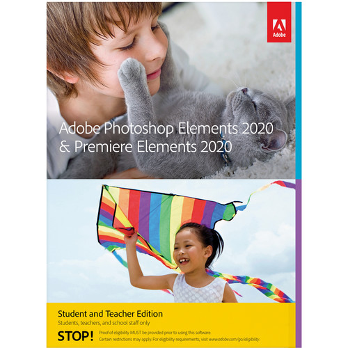 Adobe Photoshop Elements & Premiere Elements 2020 (Academic, Download, Windows)