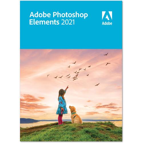 Adobe Photoshop Elements 2021 (DVD, Mac/Windows)