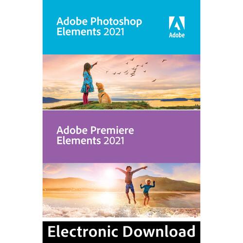 Adobe Photoshop Elements & Premiere Elements 2021 (Download, Windows)