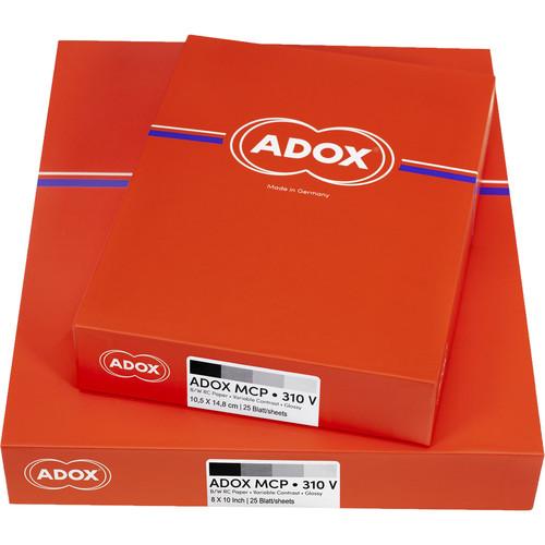 Adox MCP 310  RC Glossy Paper 8X10 (100)