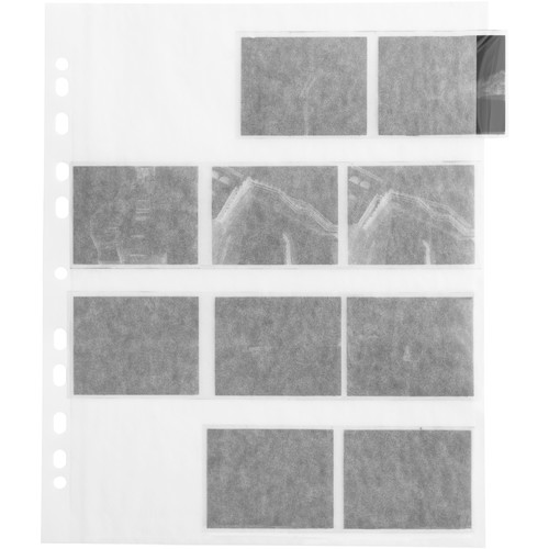 Adox Fotoimpex Glassine Negative Pages (120mm, 100-Pack)