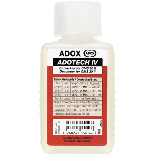 Adox Adotech CMS IV Black and White Film Developer (100mL)