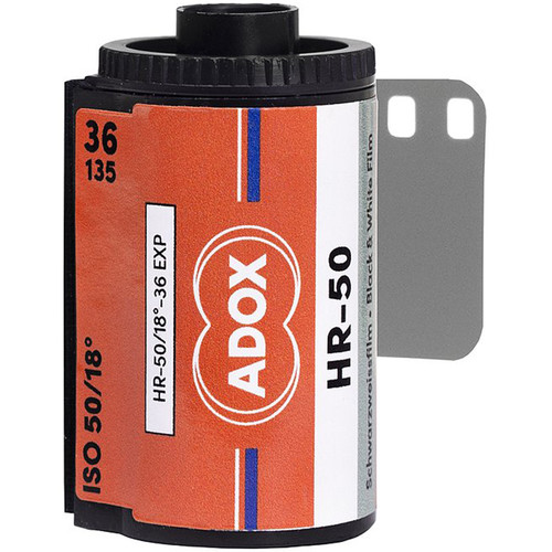 Adox HR-50 Black and White Negative Film (35mm, 36 Exposures)