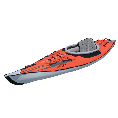 Advanced Elements AdvancedFrame Inflatable Kayak (Classic Red)