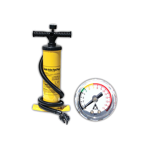 Advanced Elements Double-Action Hand Pump with Pressure Gauge for Inflatable Boats & Kayaks