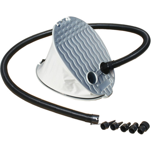 Advanced Elements PackLite Bellows Foot Pump for Inflatable Boats & Kayaks