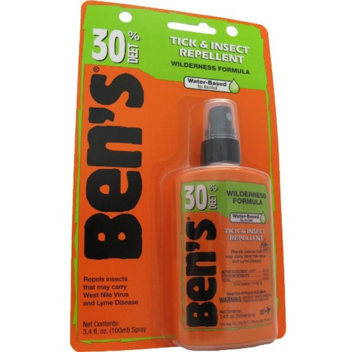 Adventure Medical Kits Ben's 30 Tick & Insect Repellent (3.4 oz, Pump Spray Bottle)