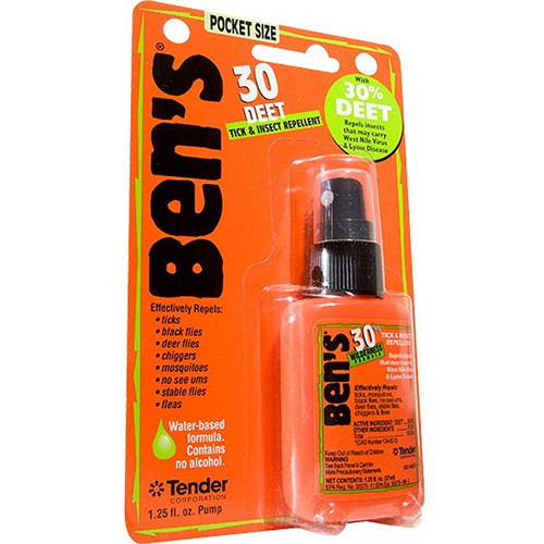 Adventure Medical Kits Ben's 30 Tick & Insect Repellent (1.25 oz, Pump Spray Bottle)