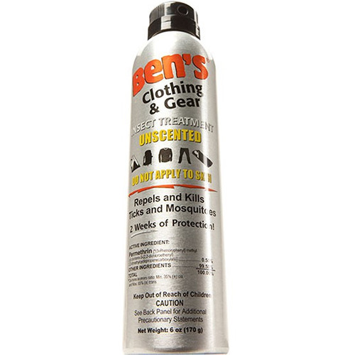 Adventure Medical Kits Ben's Clothing and Gear Continuous Insect Repellent (6 oz, Spray Bottle)