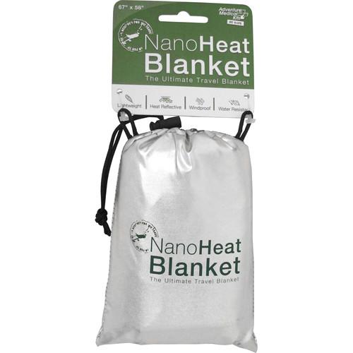Adventure Medical Kits NanoHeat Travel Blanket (Silver)