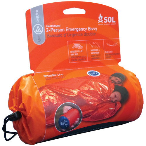 "Adventure Medical Kits 84 x 60"" Survive Outdoors Longer 2-Person Emergency Bivvy"