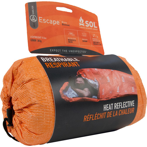 "Adventure Medical Kits 84 x 31"" Survive Outdoors Longer Escape Bivvy (Orange)"