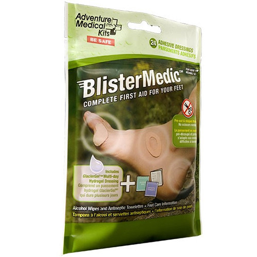 Adventure Medical Kits Blister Medic Kit with GlacierGel and Moleskin Dressings