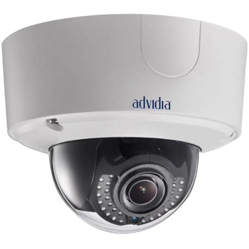 Advidia 3MP Network Outdoor Dome Camera with 2.8 to 9mm Varifocal Lens & Night Vision