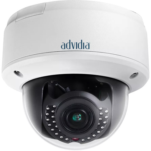 Advidia 3MP Network Dome Camera with 2.8 to 9mm Varifocal Lens & Night Vision