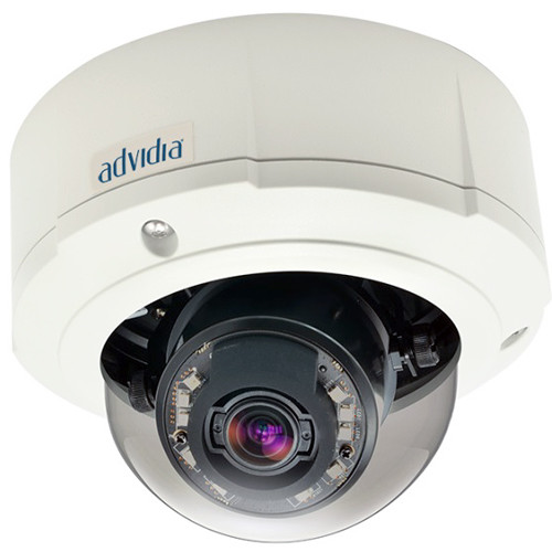 Advidia 5MP Vandal-Resistant Outdoor Dome Camera with 3 to 9mm Varifocal Lens & Night Vision