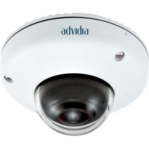 Advidia B-5360 5MP Outdoor Vandal-Resistant Mini Dome Camera with Fisheye Lens